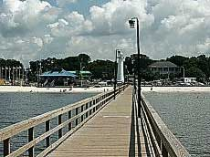 The Biloxi Beach Boardwalk